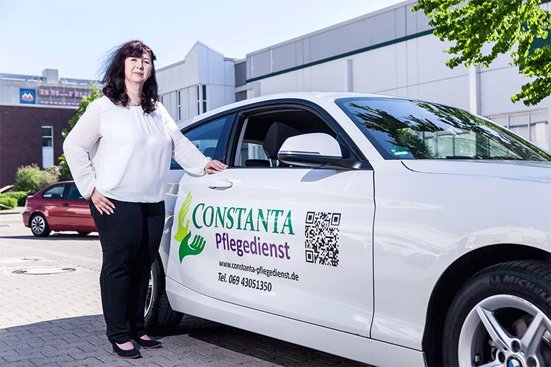 Pflegerin von Constanta Frankfurt